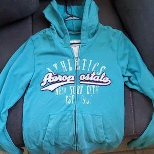 Aeropostale blue hoodie